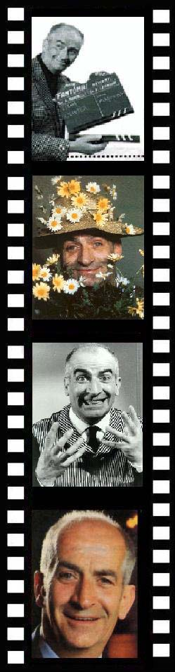 louis de funes photos portraits grimaces